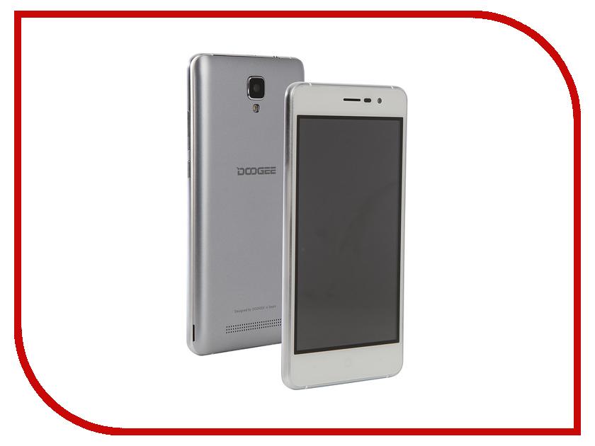 Сотовый телефон DOOGEE X10S Galaxy Gray сотовый телефон doogee s60 silver