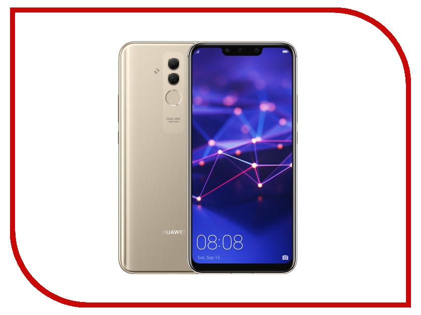 Сотовый телефон Huawei Mate 20 Lite 64Gb Gold huawei mate 9 mha al00 6gb 128gb smartphone champagne gold