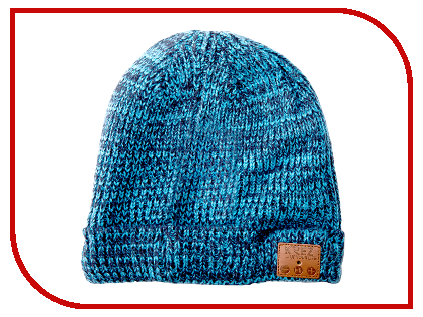 KREZ Talking Hat Blue hat love cashmere hat