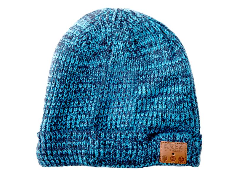 KREZ Talking Hat Blue hat love cashmere hat