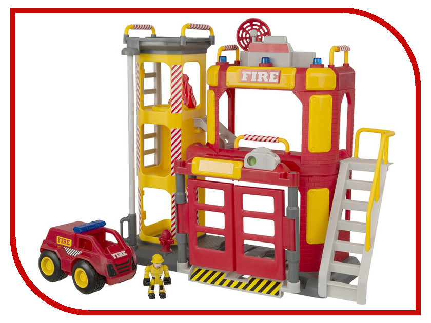 Игрушка HTI Большая пожарная станция Teamsterz: Fire Station HQ 1416246 d36 digital constant temperature heating platform 360 200mm 1500w preheat station bga preheating station pcb preheater board