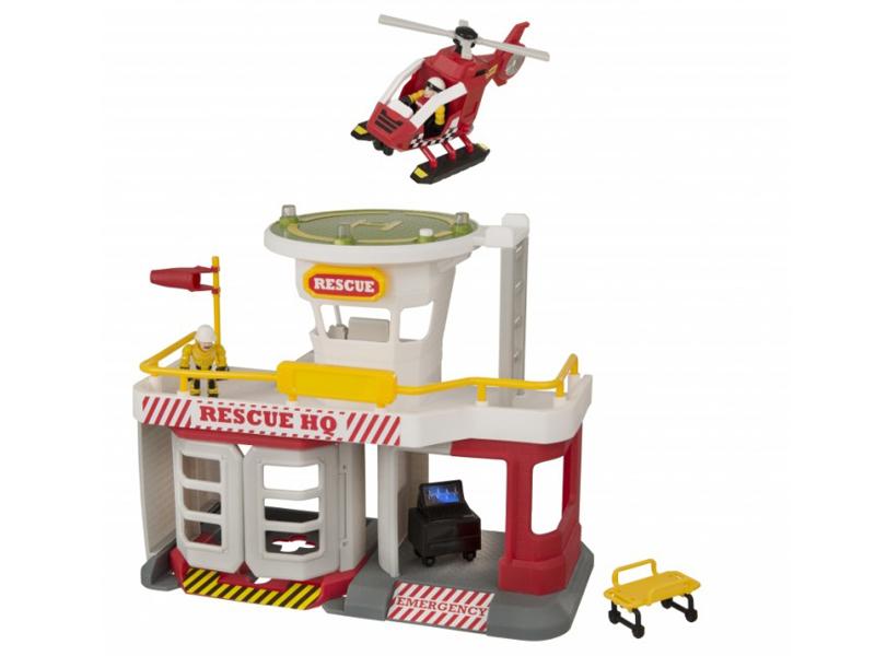 Игрушка HTI Спасательная станция МЧС Teamsterz: Air Rescue HQ 1416247 спасательная штанга singing rock rescue pole