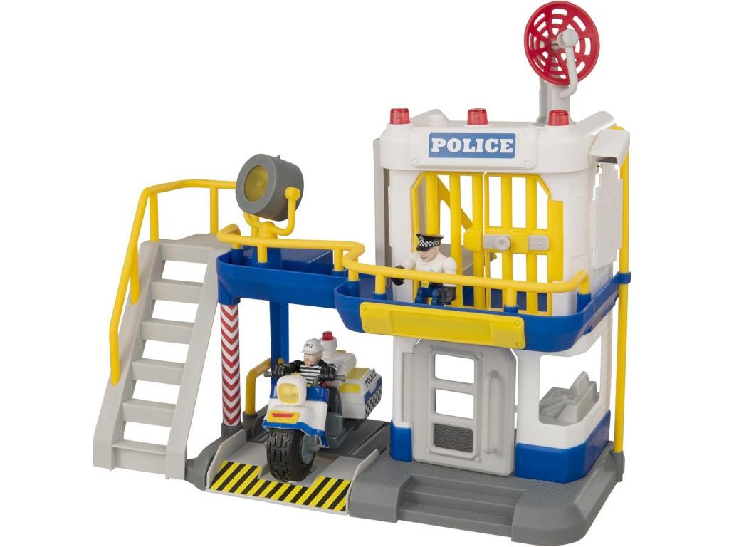 Игрушка HTI Полицейский участок Teamsterz: Police Rescue 1416248 игрушка hti roadsterz локомотив 1370104