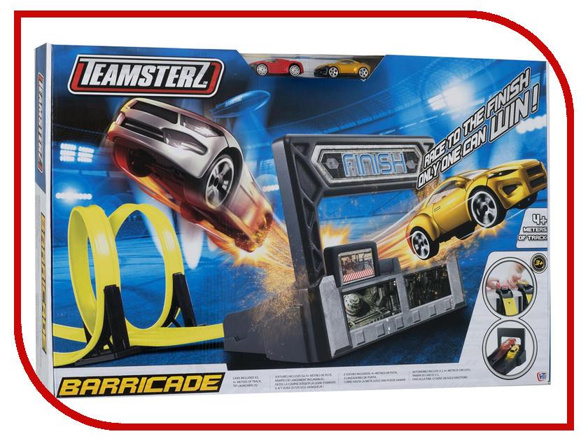 Автотрек HTI Teamsterz Barricade треки hti автотрек hti teamsterz динозавр велоцераптор с 1 машинкой и пусковой установкой