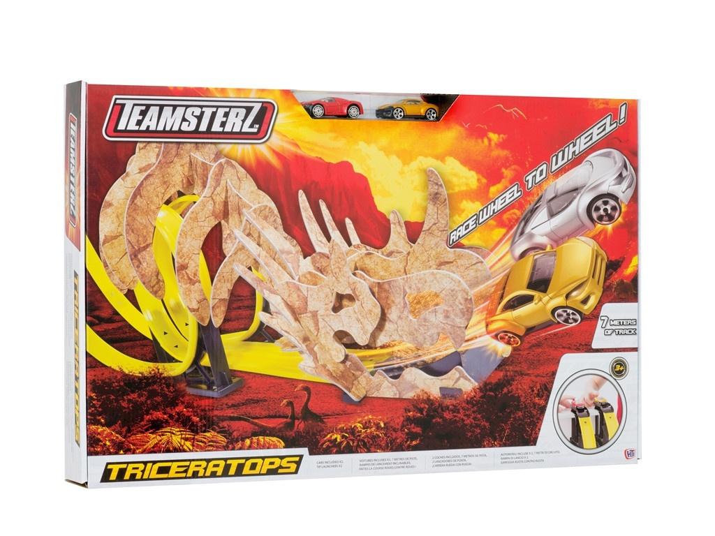 Автотрек HTI Teamsterz Triceratops