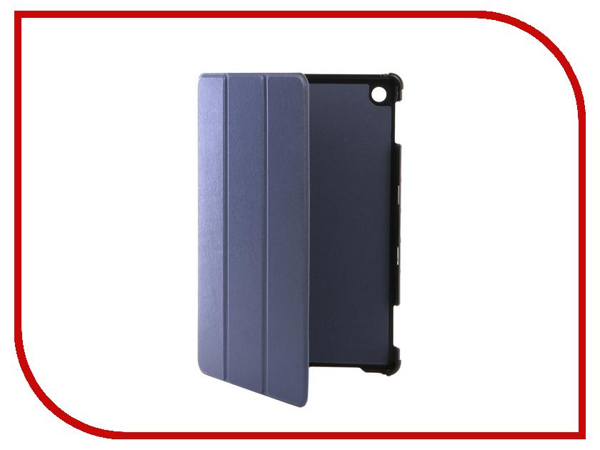 Аксессуар Чехол для Huawei MediaPad M5 10 Lite 10.1 Partson Blue T-107 аксессуар чехол partson для apple ipad 2018 9 7 black t 096