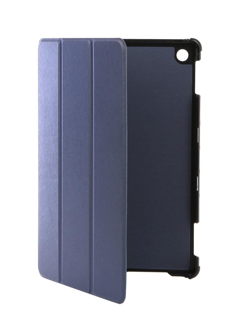Аксессуар Чехол Partson для Huawei MediaPad M5 10 Lite 10.1 Blue T-107