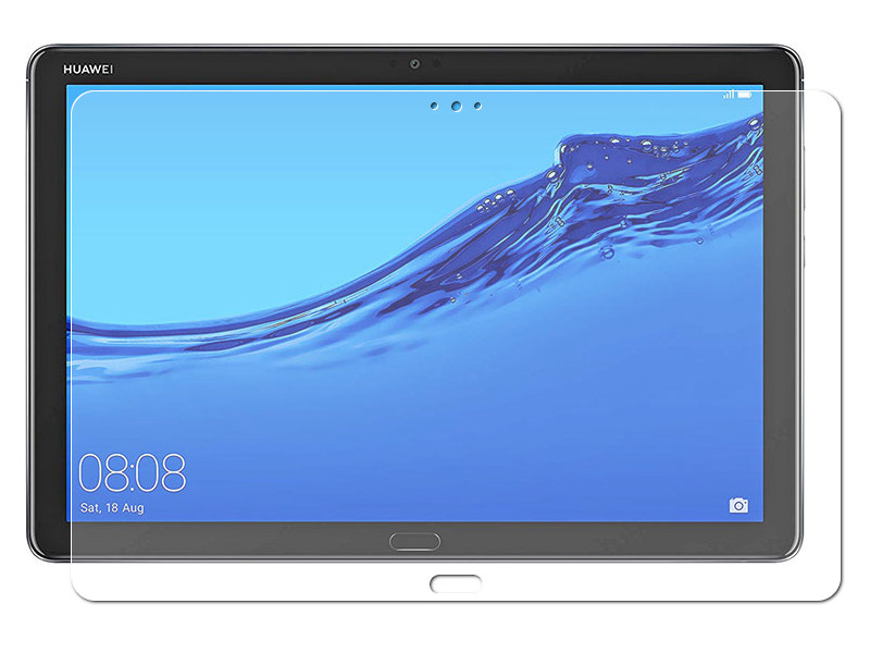 Аксессуар Защитное стекло Zibelino TG для Huawei MediaPad M5 Lite 10.1 ZTG-HW-M5-LIT-10.1 аксессуар чехол zibelino для huawei mediapad m5 m5 pro 10 8 tablet gold zt hua m5 10 8 gld