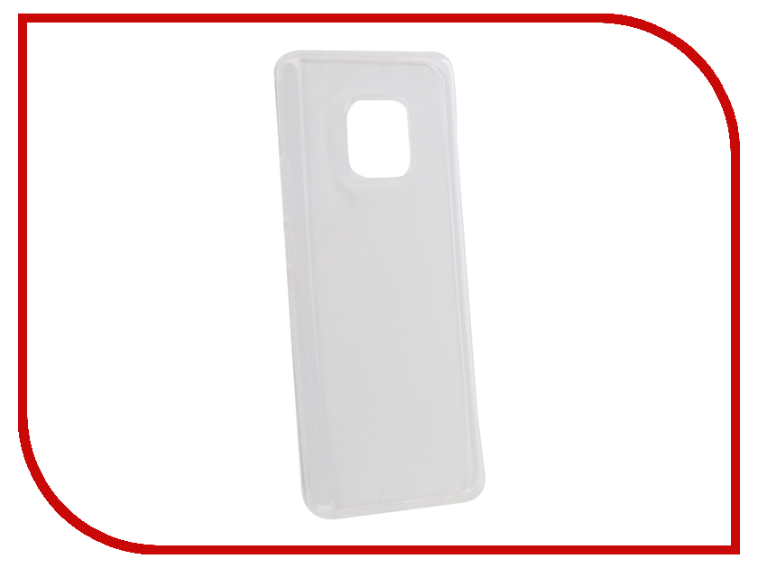 Аксессуар Чехол для Huawei Mate 20 Pro Zibelino Ultra Thin Case Transparent ZUTC-HUA-MAT20PR-WHT moskii brand ultra thin pc shield case cover for huawei mate7