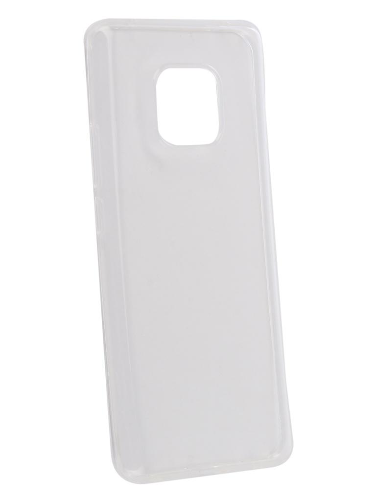 Аксессуар Чехол Zibelino для Huawei Mate 20 Pro Ultra Thin Case Transparent ZUTC-HUA-MAT20PR-WHT