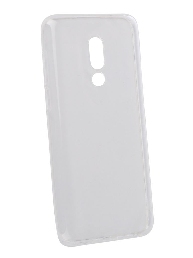 Аксессуар Чехол Zibelino для Meizu M16th 6.0 Ultra Thin Case Transparent ZUTC-MZU-M16-WHT