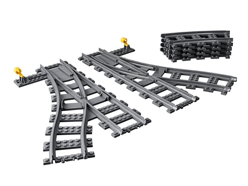 Конструктор Lego City Дополнительные элементы для поезда 8 дет. 60238 конструктор lego city патрульный самолёт 54 дет 60206