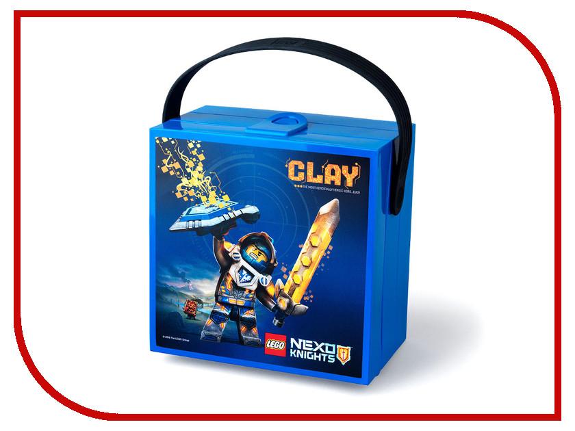Ланч-бокс Lego Nexo Knights 40511734 lepin nexo knights axl glob lobber combination marvel building blocks kits toys compatible legoe nexus