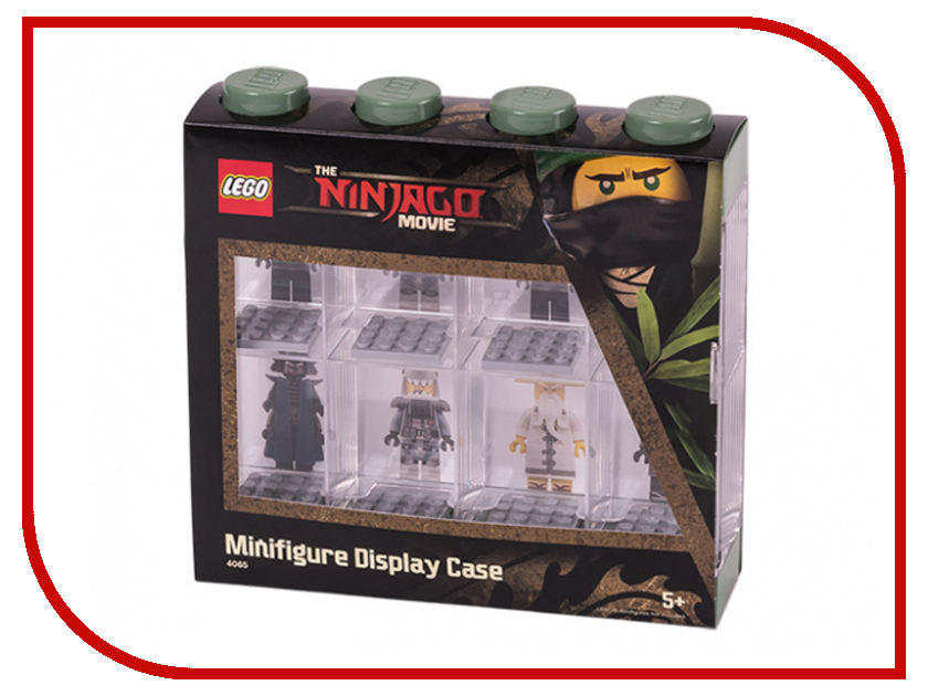 Пластиковый кейс для минифигурок Lego 40651741 чехол для lenovo tab 3 tb3 730x lenovo folio case and film серый
