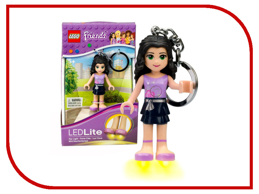 Брелок Lego Friends LGL-KE22E светильник lego super heroes wonder woman lgl tob25t