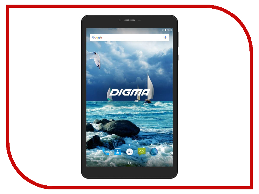 Планшет Digma CITI 7575 3G Black CS7193MG (MediaTek MT8321 1.3 GHz/2048Mb/16Gb/GPS/3G/Wi-Fi/Bluetooth/Cam/7.0/1280x800/Android) планшет tesla neon color 7 0 3g 7 8gb синий wi fi 3g android neon 7 0 3g