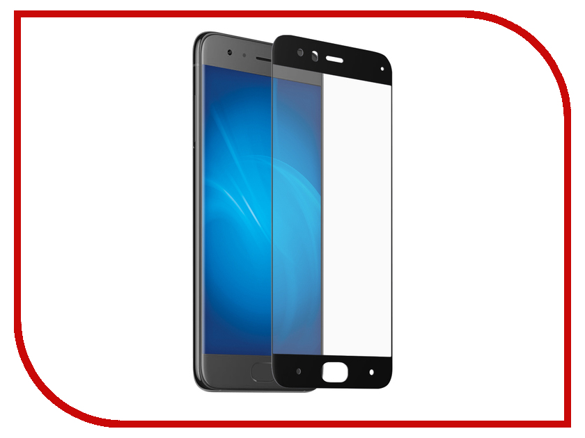 Аксессуар Стекло защитное для Xiaomi Mi 6 Krutoff Full Screen Black 02573 original 6 1 inch a061vtt01 0 lcd screen for garmin nuvi 67 67lm 67lmt gps lcd display screen with touch screen digitizer