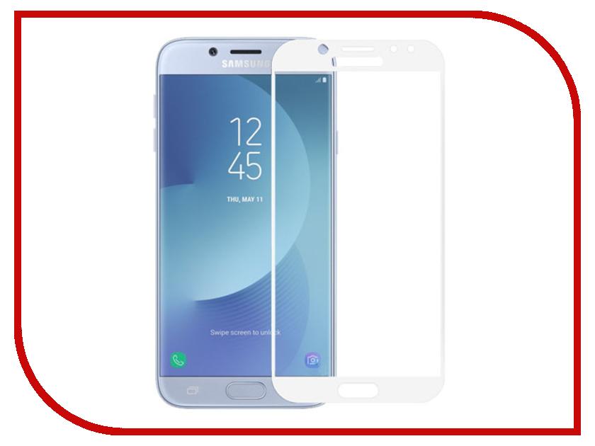 Аксессуар Стекло защитное Krutoff Full Screen для Samsung Galaxy J7 2017 SM-J730 White 02553