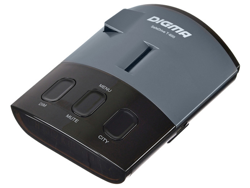 Радар-детектор Digma SafeDrive T-600 Grey SDT600