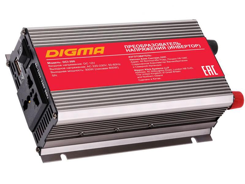 Автоинвертор Digma DCI-300
