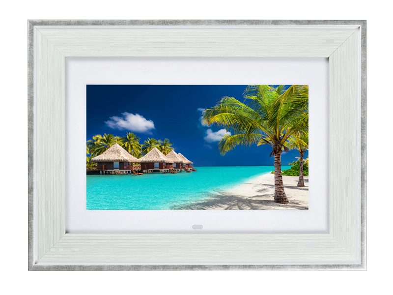 цена Цифровая фоторамка Digma PF-105MS White в интернет-магазинах
