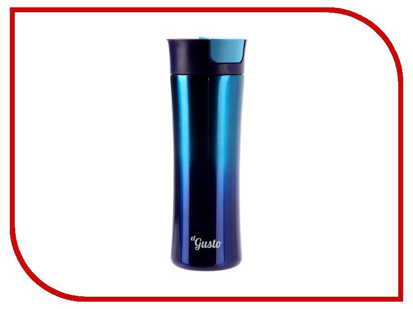 Термокружка El Gusto Gradient 470ml Blue 043A термокружка el gusto berry red 042 r