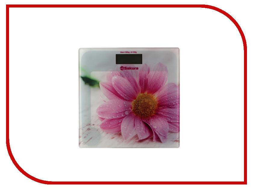 Весы напольные Sakura SA-5072GW sakura sa 2136