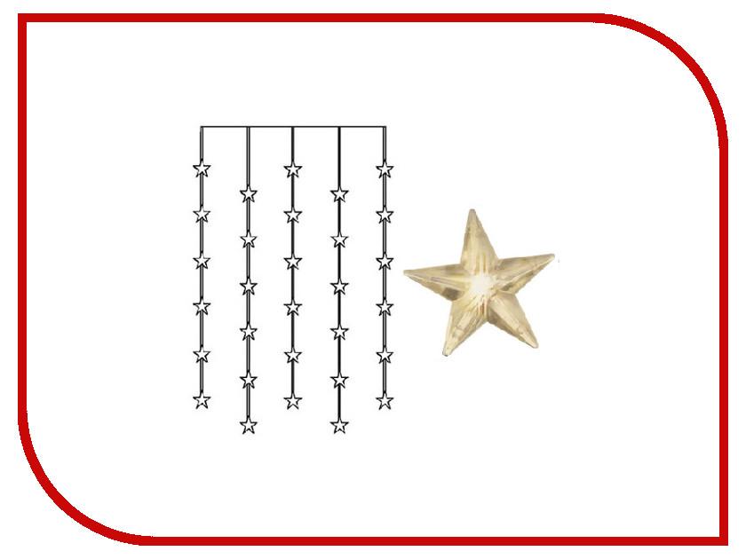 Гирлянда Star Trading Занавес со звёздами 30 LED 90x120cm Warm Yellow 2006-74 celestial star projector lamp yellow light