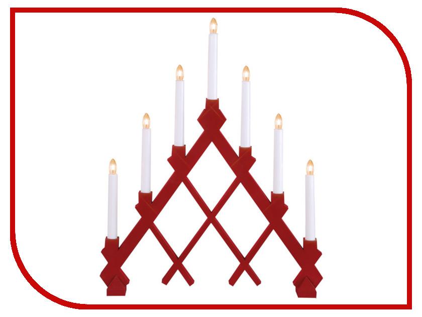 Светящееся украшение Star Trading Светильник декоративный Red 155-45 светодиодная свеча star trading solar energy 479 89
