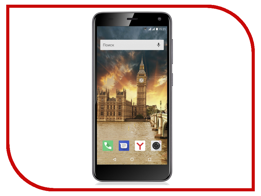 Сотовый телефон Fly Life Compact 4G Black цена
