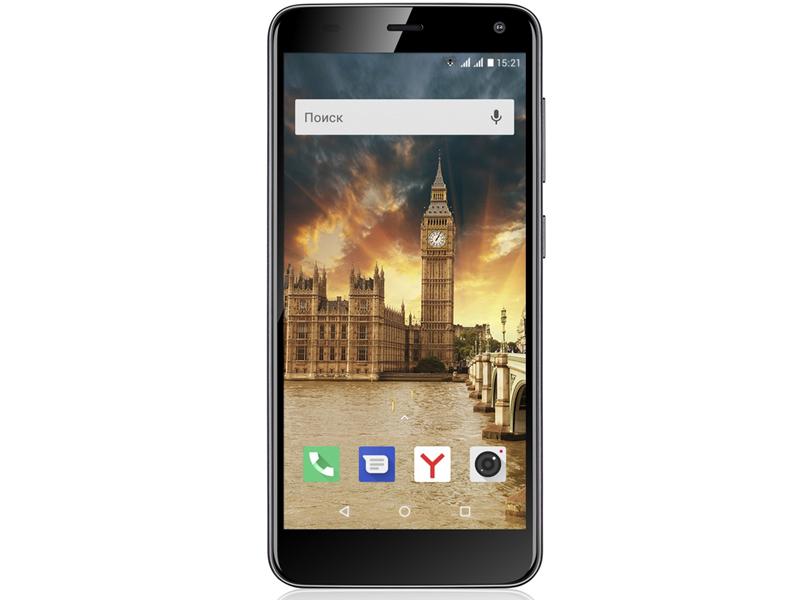 Сотовый телефон Fly Life Compact 4G Black сотовый телефон oukitel c8 4g black