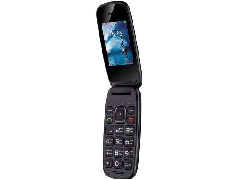 Сотовый телефон Fly Flip Black цена