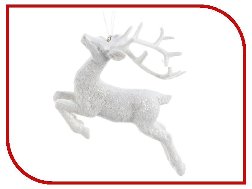 Украшение Kaemingk Небесный олень White 533859 стоимость