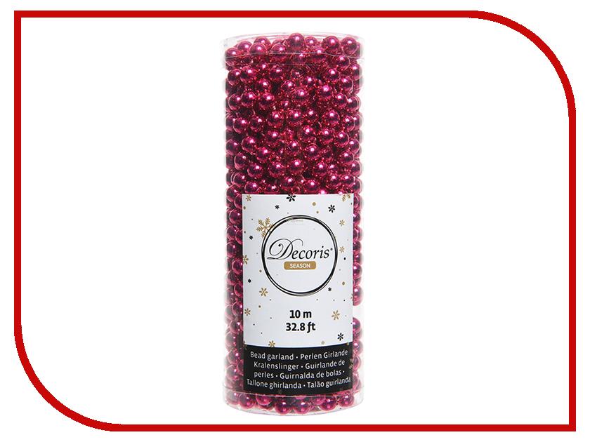 Украшение Kaemingk Бусы Цветной бисер 10m Fuchsia 000702 украшение kaemingk щелкунчик green 027370