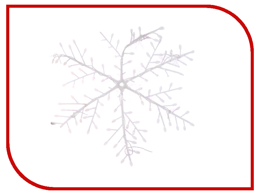 Украшение Магия праздника Снежинки 16cm 3шт NY013