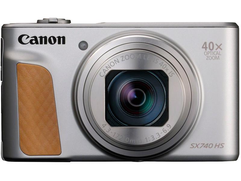 Фото - Фотоаппарат Canon PowerShot SX740 HS Silver цифровой фотоаппарат canon powershot sx730 hs silver