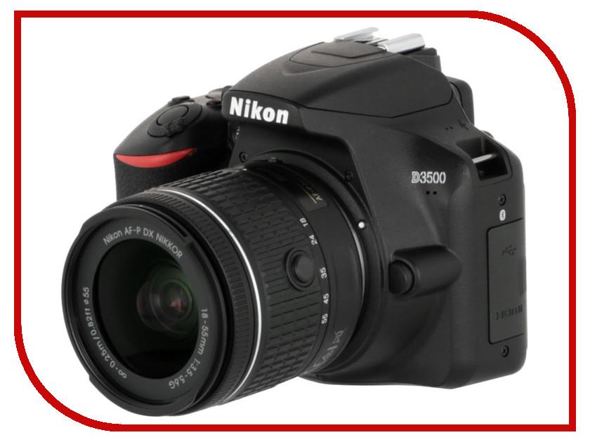 цена на Фотоаппарат Nikon D3500 Kit 18-55 mm AF-P Black
