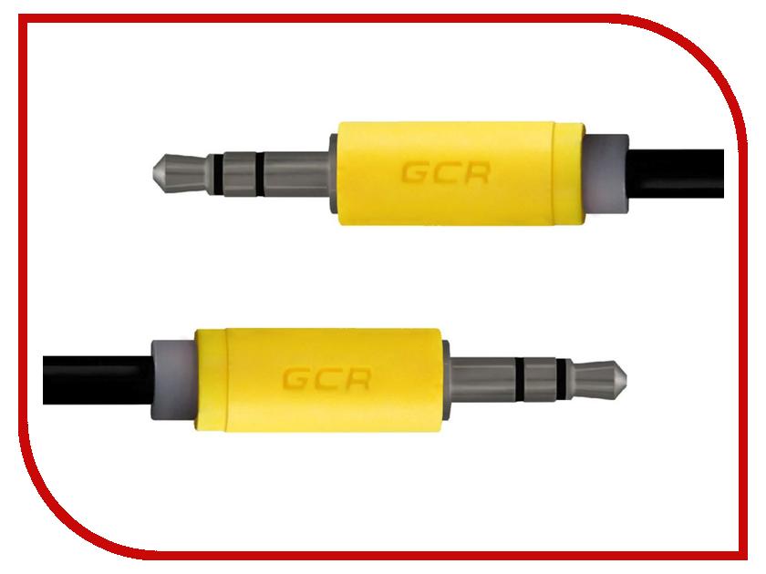 Аксессуар Greenconnect 3.5 Jack M - 3.5 Jack M 0.5m Black-Yellow GCR-AVC014-0.5m аксессуар greenconnect hdmi m m v2 0 3m red gcr hm451 3 0m