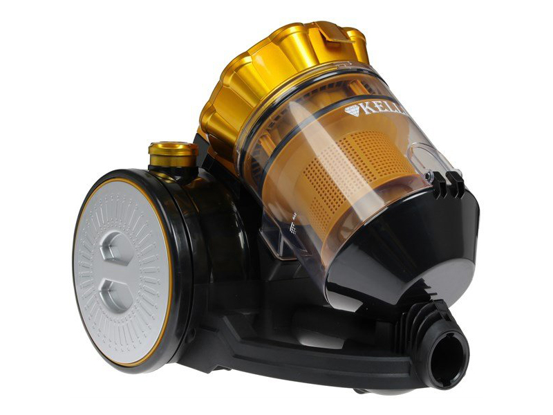 Пылесос Kelli KL-8012 Yellow пылесос kelli kl 8007