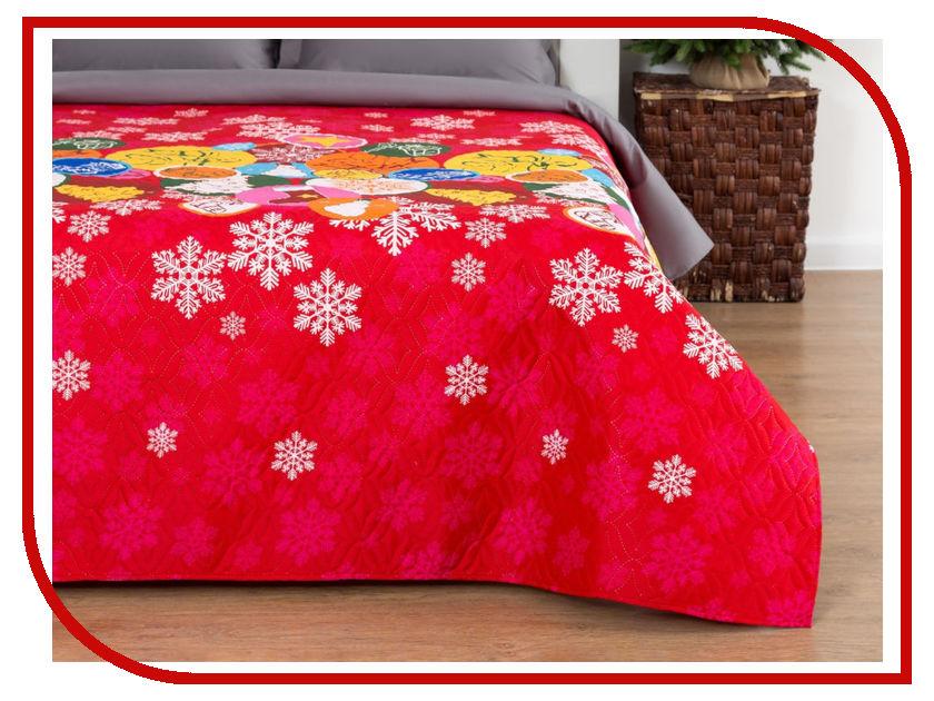 Покрывало Экономь и Я Новогодние подарки 180x210cm 3867453