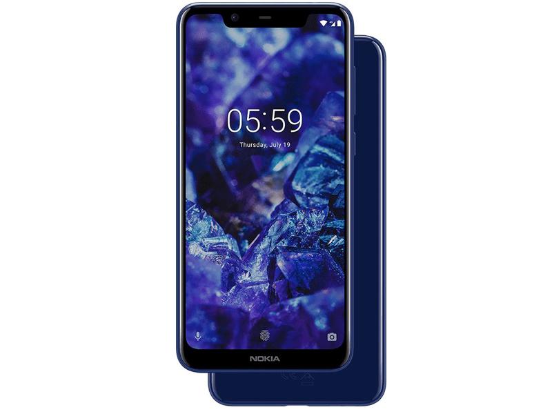 Сотовый телефон Nokia 5.1 Plus Blue