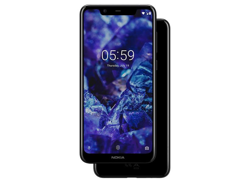 Сотовый телефон Nokia 5.1 Plus Black