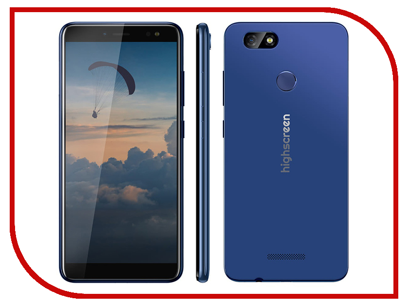 Сотовый телефон Highscreen Expanse Blue сотовый телефон philips s386 navy