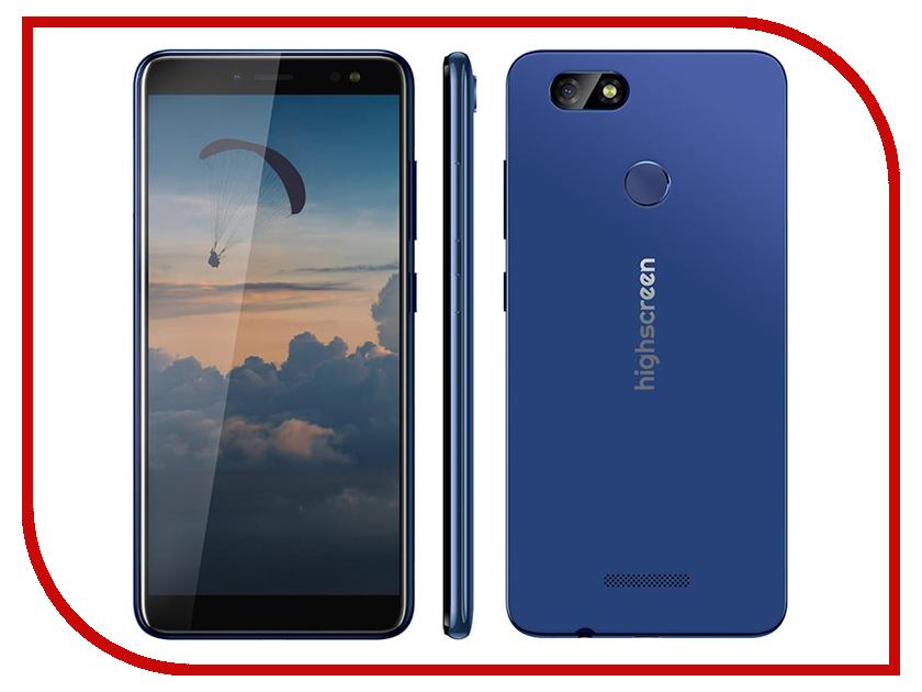 Сотовый телефон Highscreen Expanse Blue highscreen boost 3 pro grey
