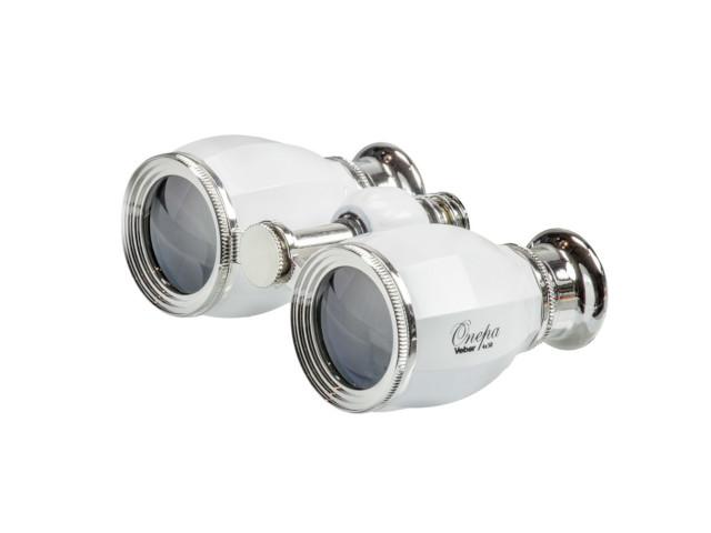 лучшая цена Бинокль Veber БГЦ 4x30 А02 White-Silver 25920