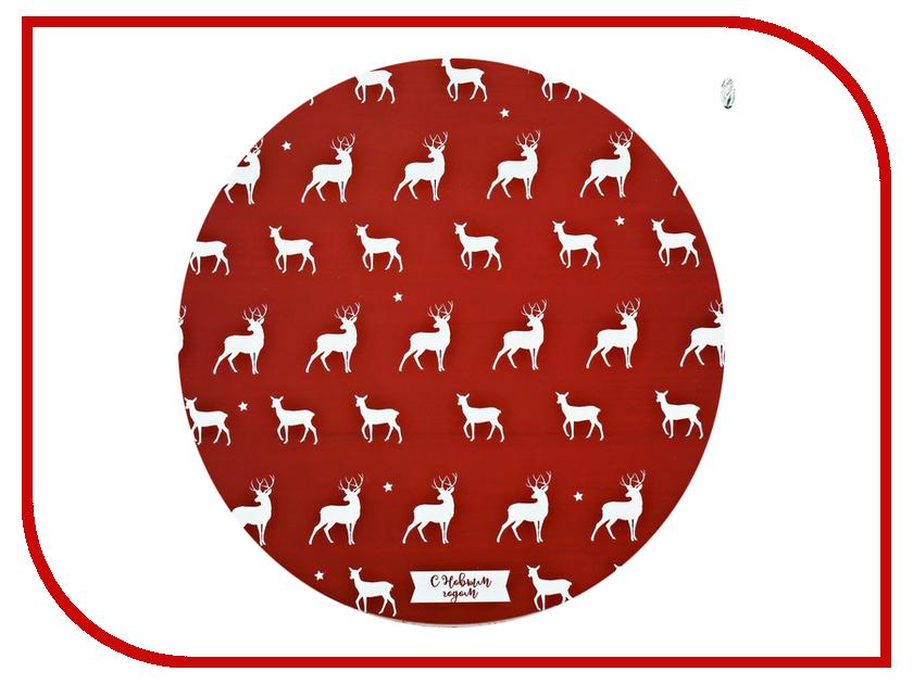 Салфетка СИМА-ЛЕНД С Новым годом. Олени 3256170 кухонный набор сима ленд шеф повар хрюша 3505364