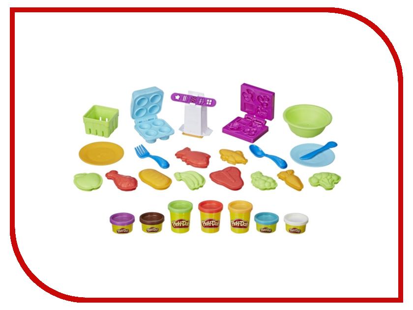 Игрушка Hasbro Play-Doh Готовим обед E1936EU4 hasbro набор пластилина hasbro play doh цвета и формы