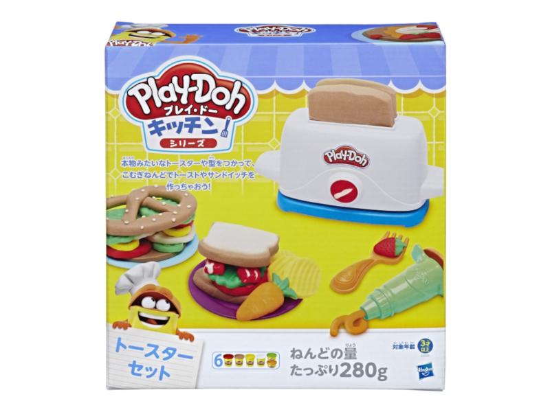 Игрушка Hasbro Play-Doh Тостер E0039EU4 игрушка hasbro play doh c3581