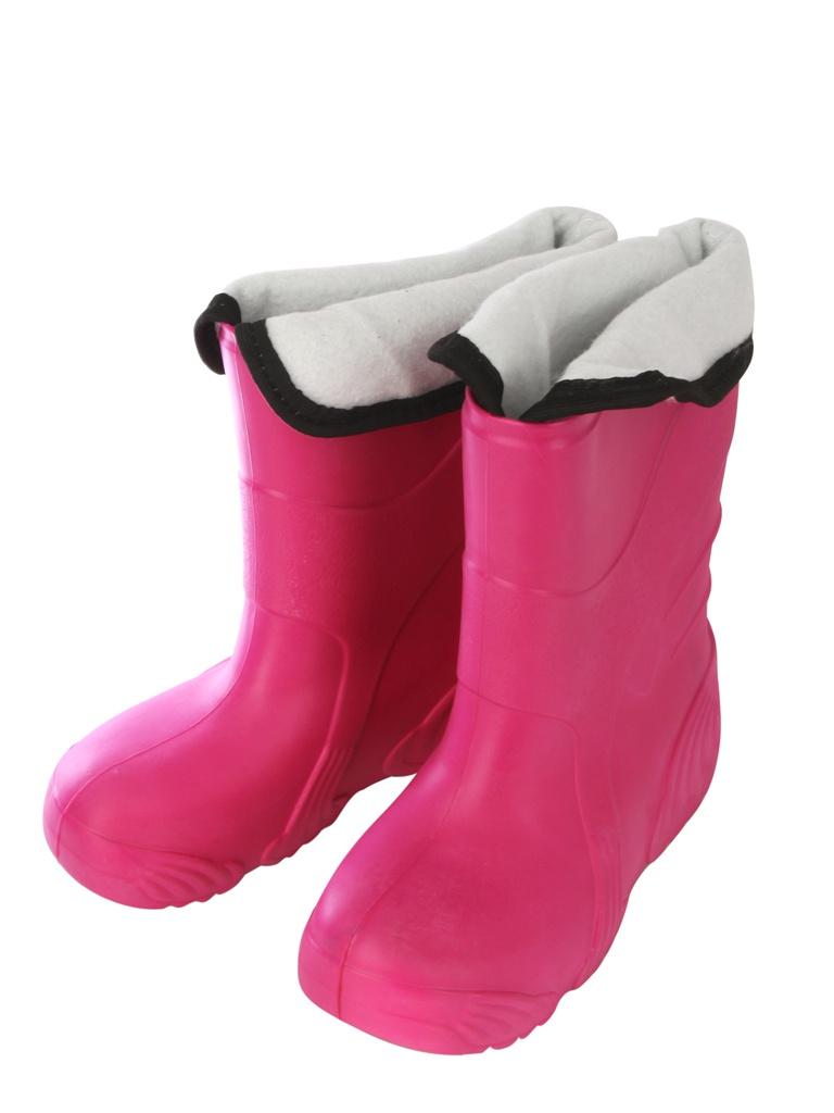 Сапоги Колесник Reflex ЭВА женские утепленные Pink р.36-37 со вставкой