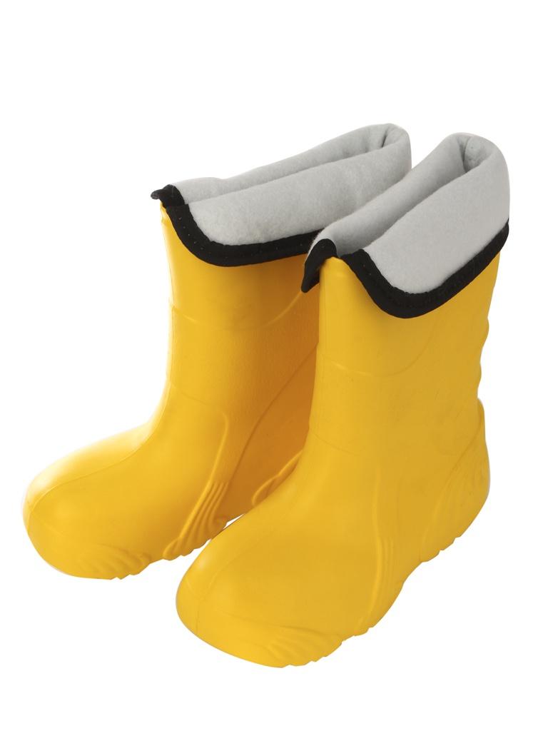 Сапоги Колесник Reflex ЭВА женские утепленные Yellow р.36-37 со вставкой